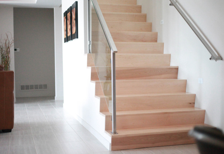 Custom Residential Wood and Steel Railing and Staircases ...