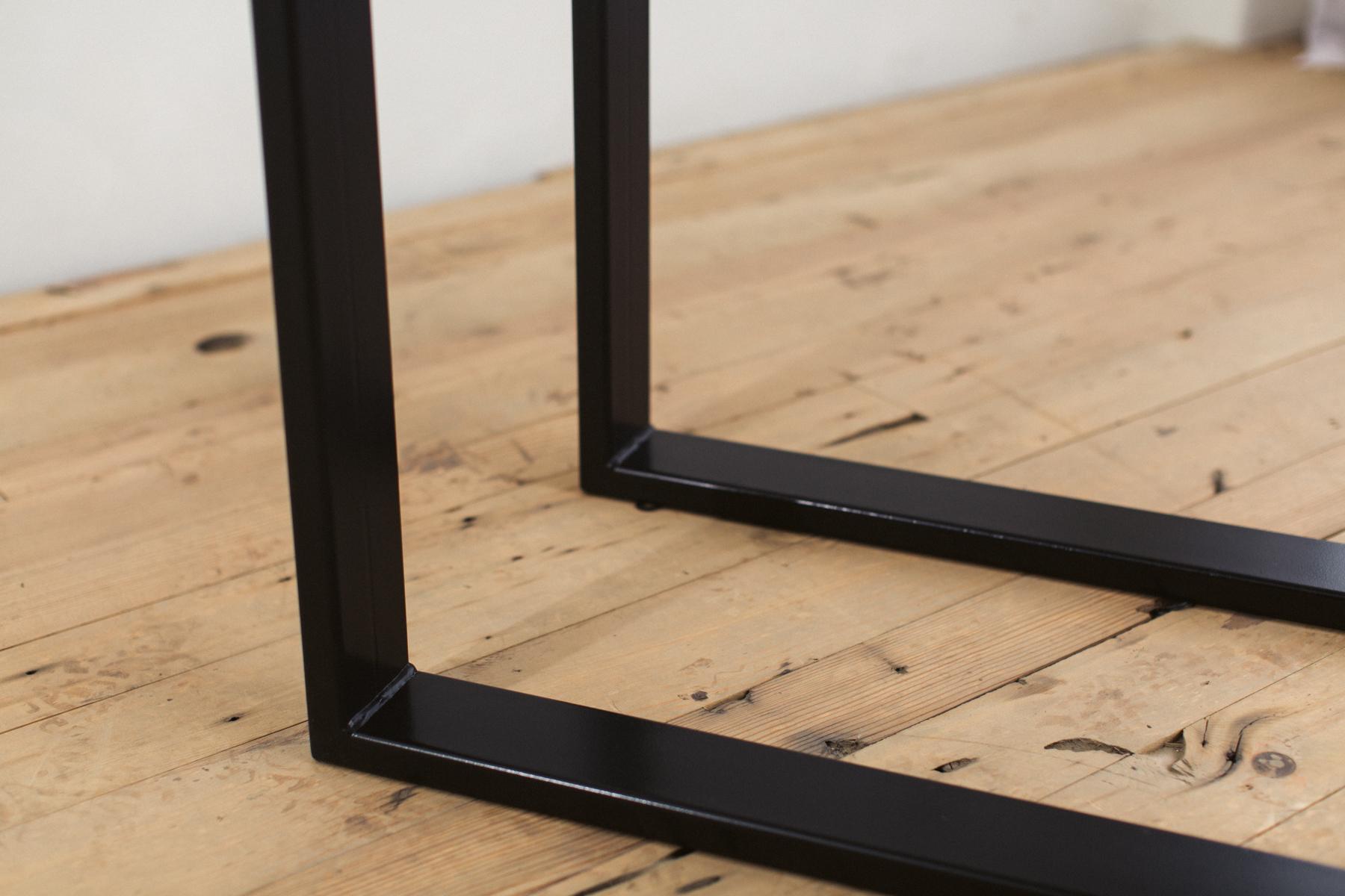 Powder Coated Steel U Shape Table Legs Factor Fabrication
